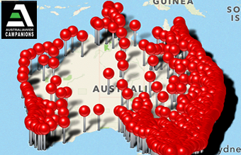 Australia Wide Campanions iPhone App