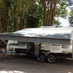 How to Set Up A Roll Out Awning for a Caravan