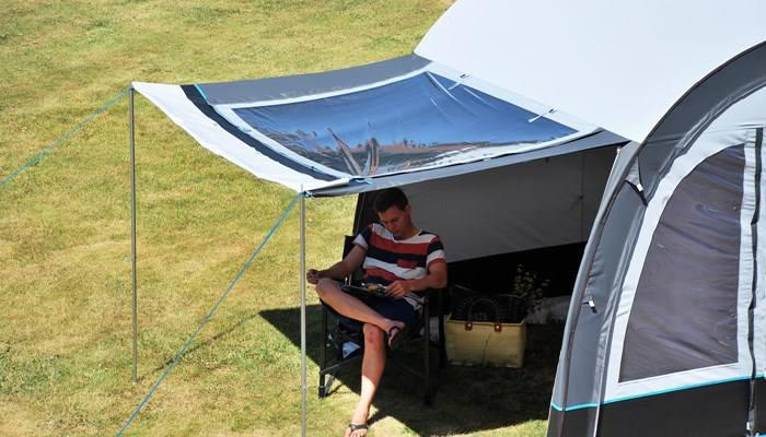 Set up a Caravan Awning