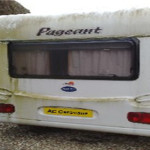 How to Remove Ugly Yellow Stains from your Caravan Awning
