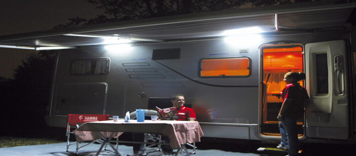 Cost Effective Lighting in Caravan