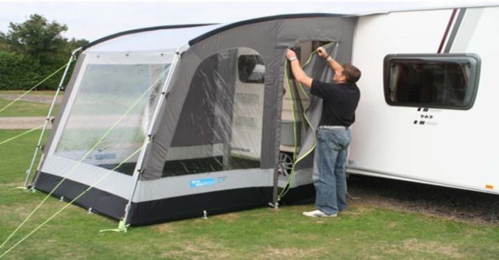 Setting Up the Awning at Your Home