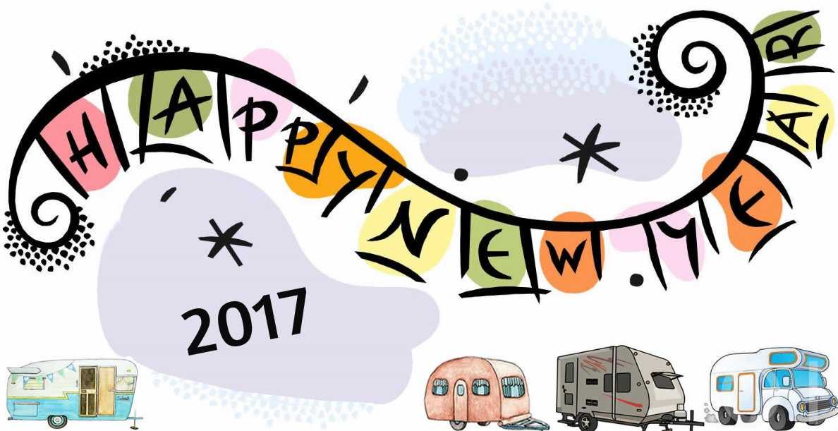 New Year's Resolutions for Caravanners 2017
