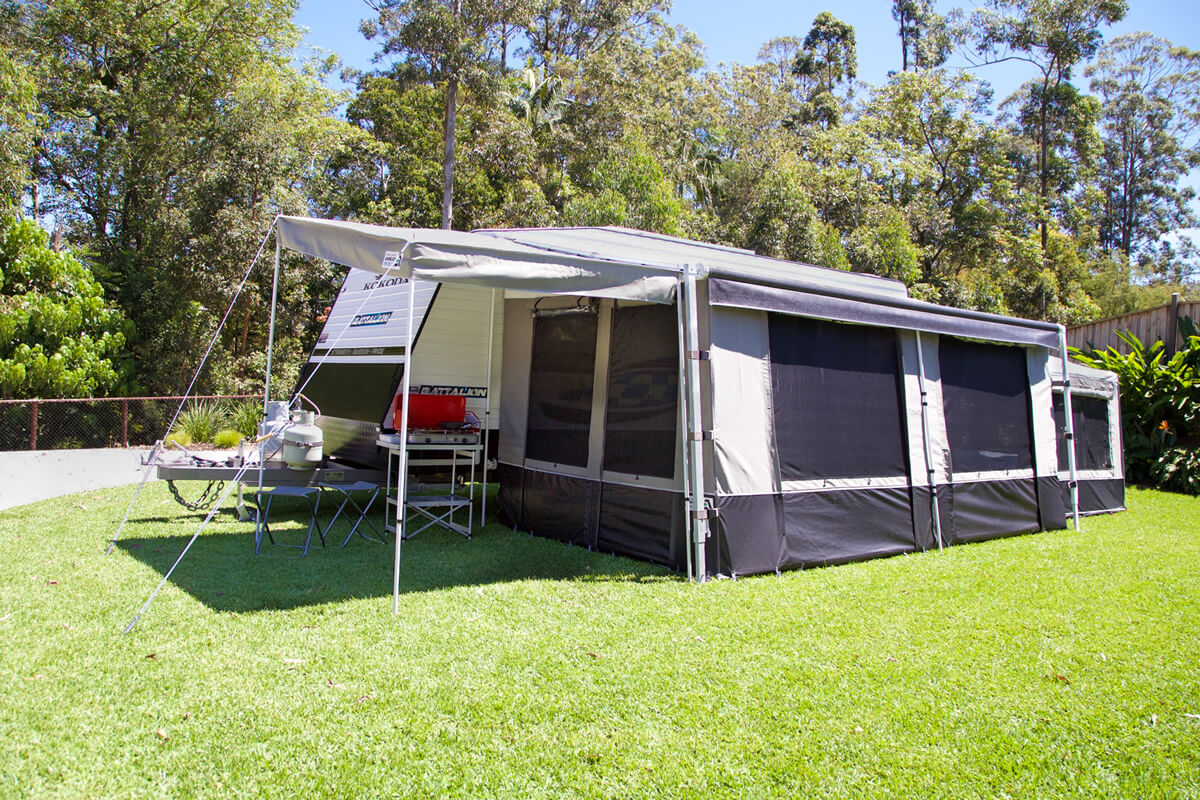 Roll Out Awning Porch For Sale - Australia Wide Annexes
