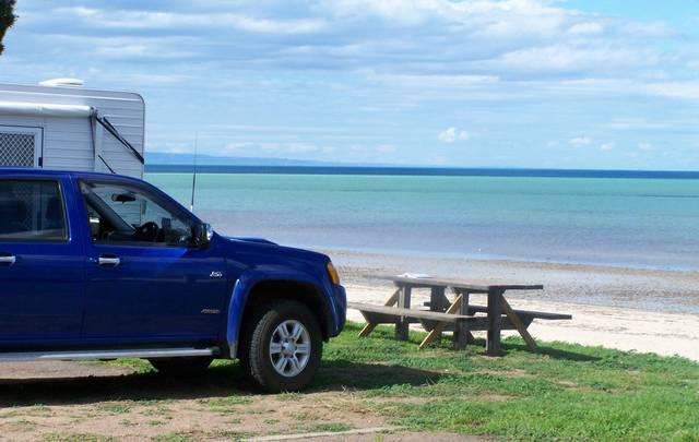 Whyalla Foreshore for Caravanning