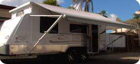 Caravan Roll Out Awnings