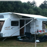 How to Set Up a Roll-Out Awning for Jayco Vans
