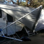 Is Your Caravan Awning Damaged in a Storm? Here is What You Need to Do!