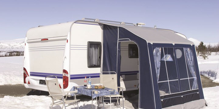 How To Prevent Caravan Awning Storm Poles From Bending