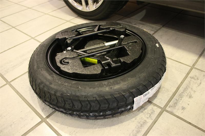 Accessories and spare tire