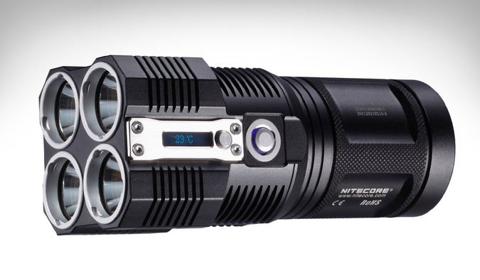 Nitecore Tiny Monster 3500 Lumen Led Flashlight