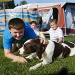 Spend time with your Dog at the Caravan Holiday Park
