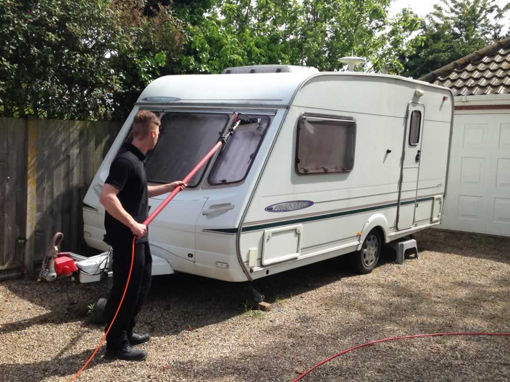 Cleaning Tips for Caravans